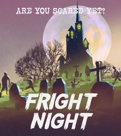 Fright night Friday banner