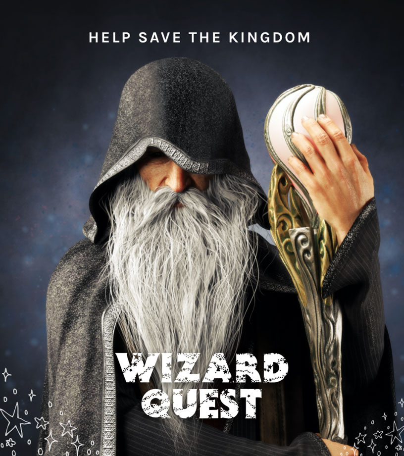 Wizard Guest Escape Room